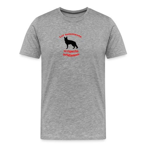 Pastore Tedesco - Maglietta Premium da uomo