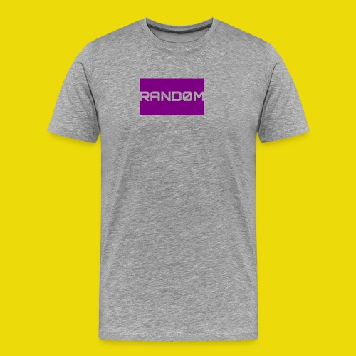 Random Logo - Men's Premium T-Shirt