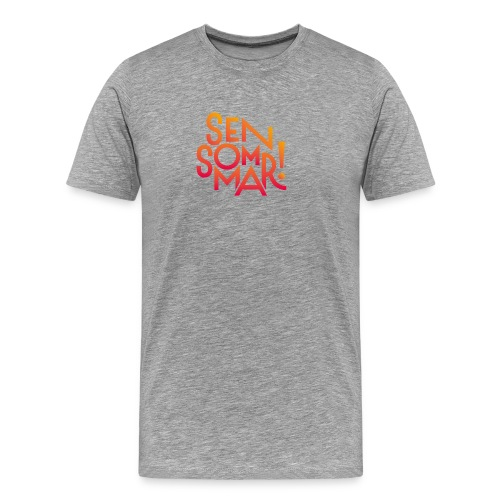 Sensommar Snapback-keps - Premium-T-shirt herr