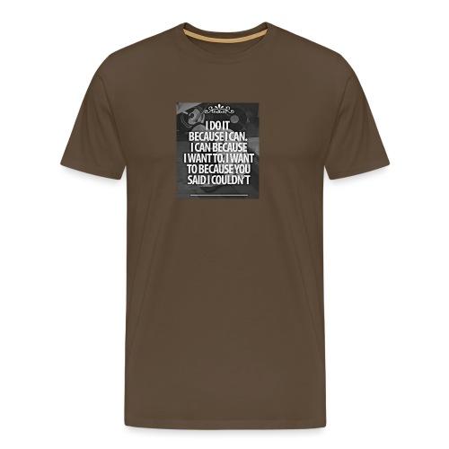 I_DO_IT - Mannen Premium T-shirt
