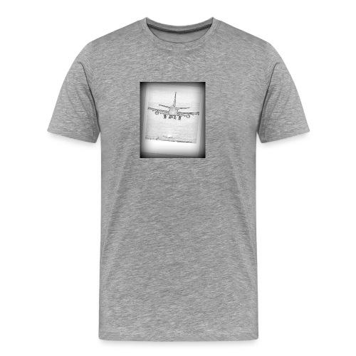 747 - Camiseta premium hombre