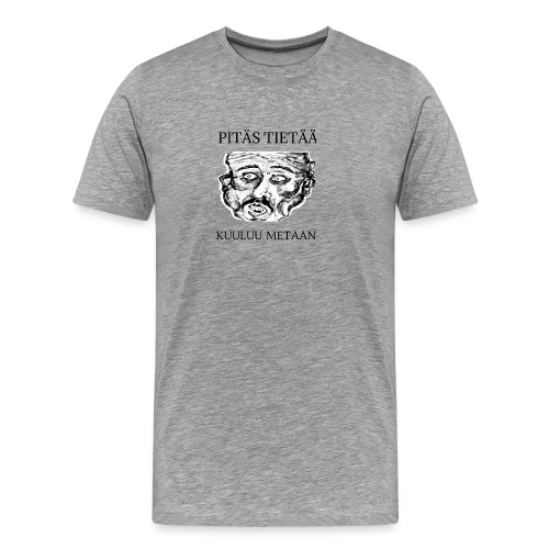 Meta: orgrinRT (on a light background) - Men's Premium T-Shirt