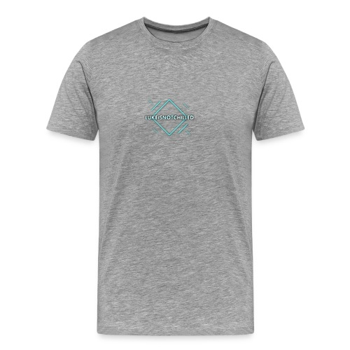 Lukeisnotchilled logo - Men's Premium T-Shirt