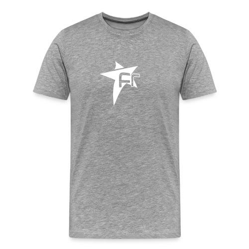 logoFR blanc - T-shirt Premium Homme