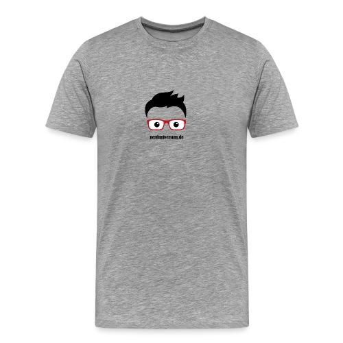 nerduniversumlogo - Männer Premium T-Shirt