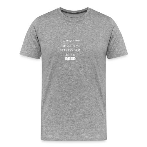 Beer lemons - Men's Premium T-Shirt