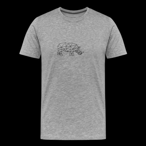Rhinoceros - T-shirt Premium Homme