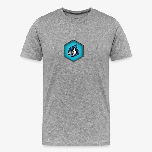 CroccoLogo - Premium-T-shirt herr