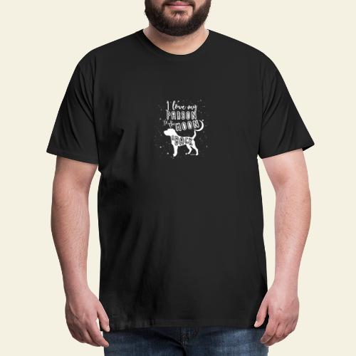 Parson Moon 2 - Miesten premium t-paita