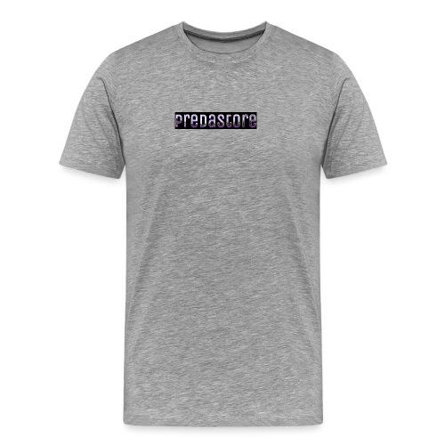 PredaStore Original Logo Design - Men's Premium T-Shirt