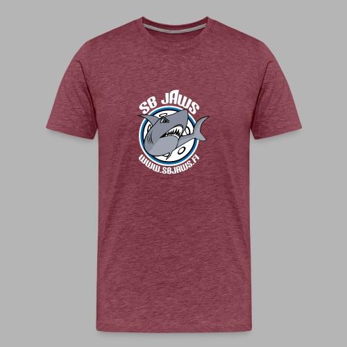 SB JAWS - Miesten premium t-paita