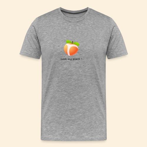 Look my peach - T-shirt Premium Homme