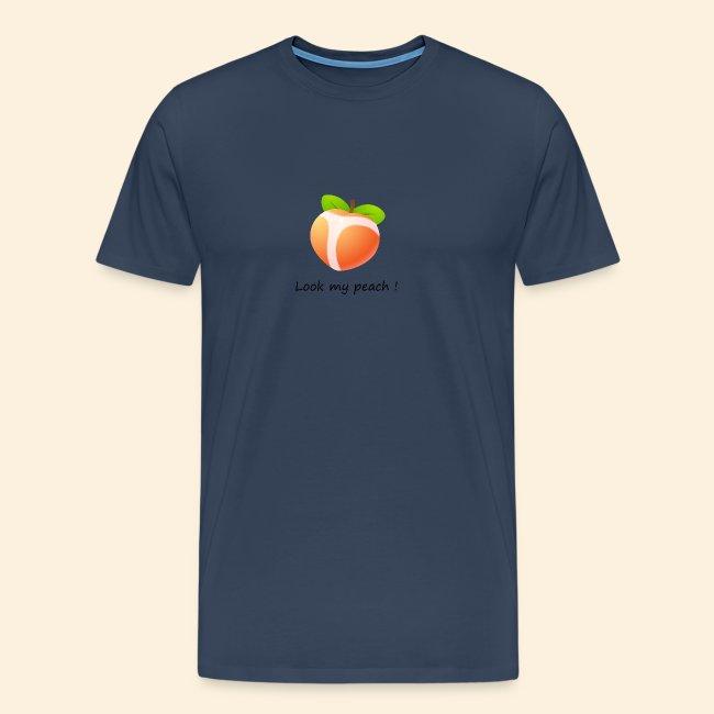Look my peach
