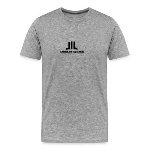 Magma Games muismatje - Mannen Premium T-shirt