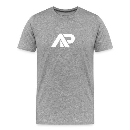 APGP Hvid - Herre premium T-shirt