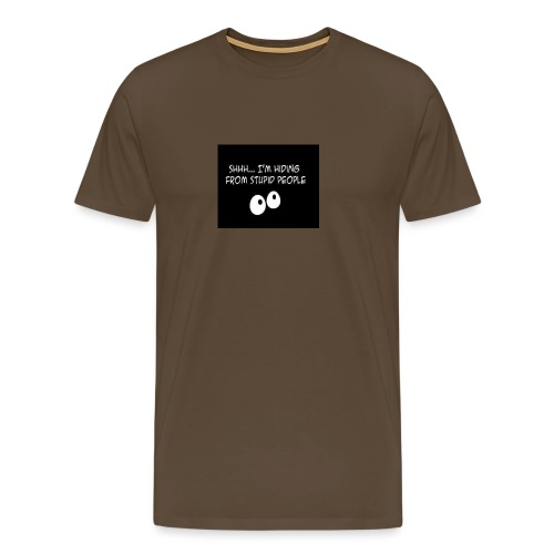 hiding - Mannen Premium T-shirt