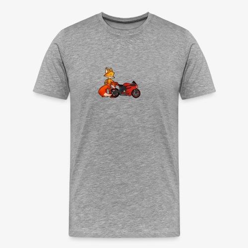 renard moto - T-shirt Premium Homme