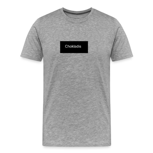 Chokladis Logo - Premium-T-shirt herr