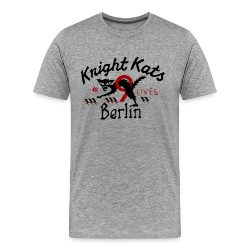 Knight Kat Motiv - Männer Premium T-Shirt