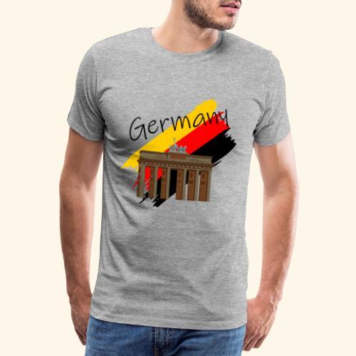 Deutschland Brandenburger Tor - Männer Premium T-Shirt