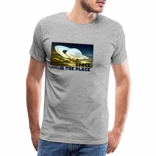 SPACE IS THE PLACE DEF RED BUBBLE 2 - T-shirt Premium Homme