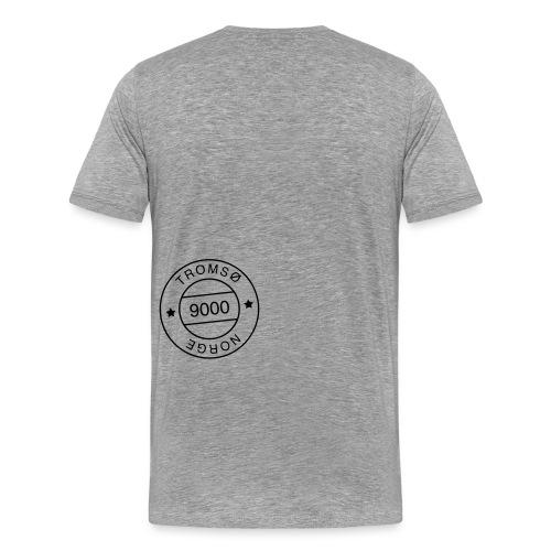 9000tlogostorre - Premium T-skjorte for menn
