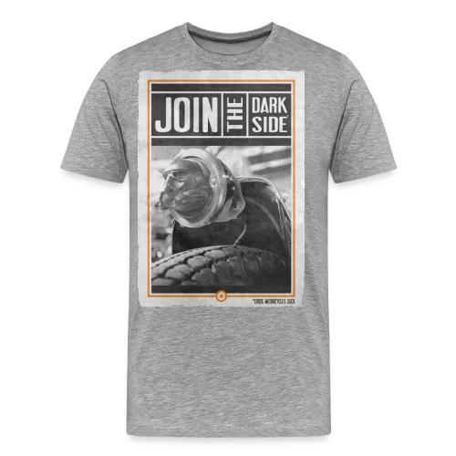 JOIN THE DARK SIDE R - T-shirt Premium Homme