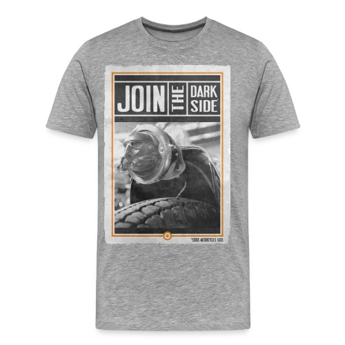 JOIN THE DARK SIDE R - T-shirt Premium Homme