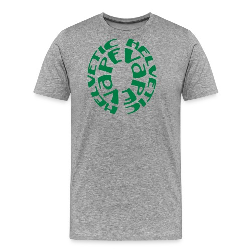 tshirt helvetic vape rnd 1 exp - T-shirt Premium Homme