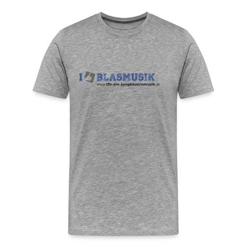 i like blasmusik png - Männer Premium T-Shirt