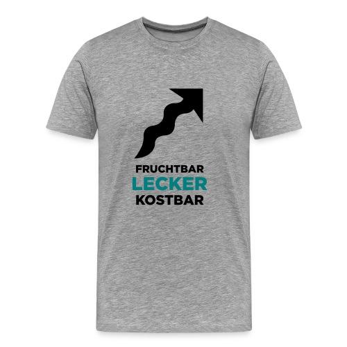 motiv3lecker2 - Männer Premium T-Shirt