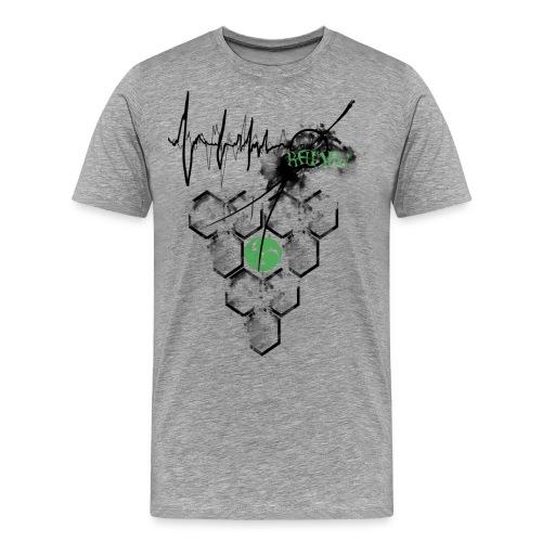 Raijin Hero-Heartbeat - Männer Premium T-Shirt