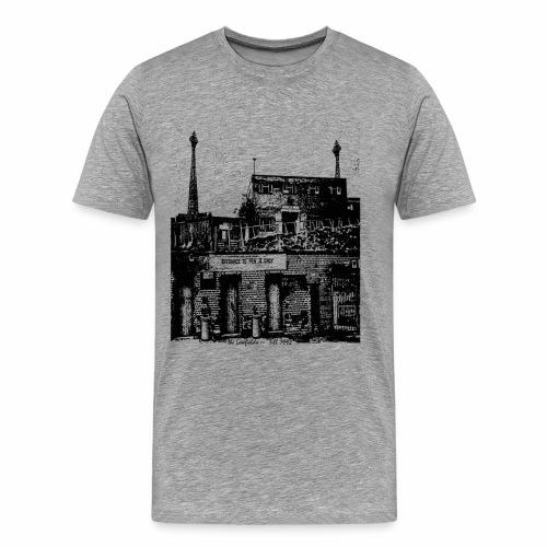lowfieldsblack002 - Men's Premium T-Shirt