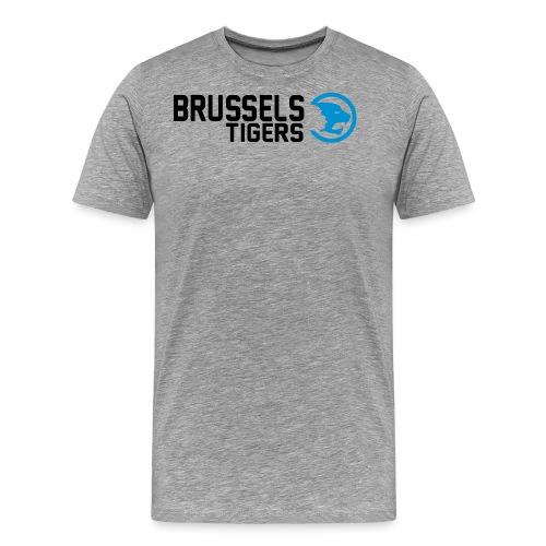 BrusselsTigers LogoWebsit - Men's Premium T-Shirt