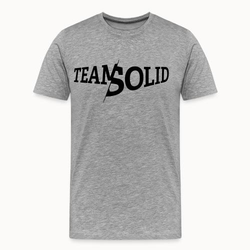 Karak_Solid_Black_reduzie - Männer Premium T-Shirt