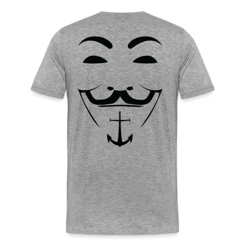 AS FACCIA - Maglietta Premium da uomo