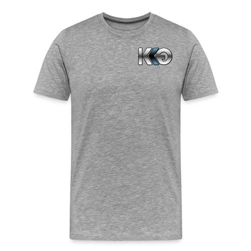 Team Kryptk Late 2014 Relaunch Logo - Blue - Men's Premium T-Shirt