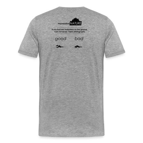 Nature Photographers in the wild - Männer Premium T-Shirt
