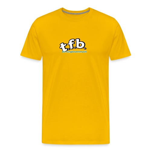 logo faerbig hinten png - Männer Premium T-Shirt