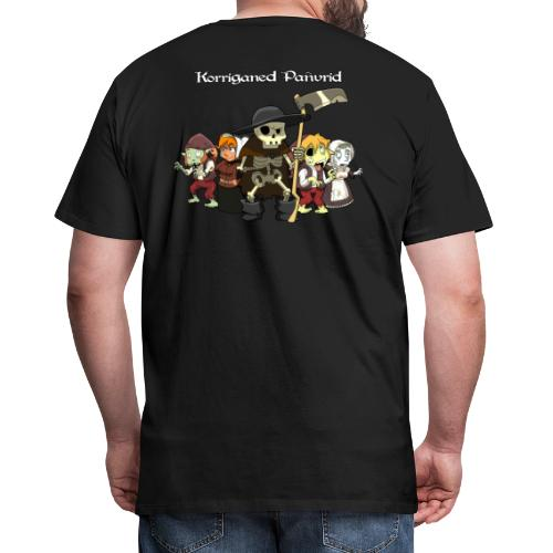 Kontadennoù ha mojennoù ar Marv - T-shirt Premium Homme