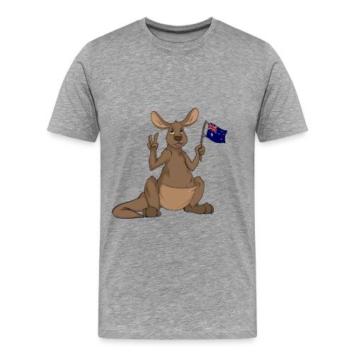 Kängeru png - Männer Premium T-Shirt