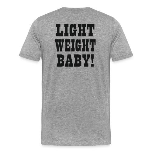 Light Weight Baby (BLACK) - Männer Premium T-Shirt