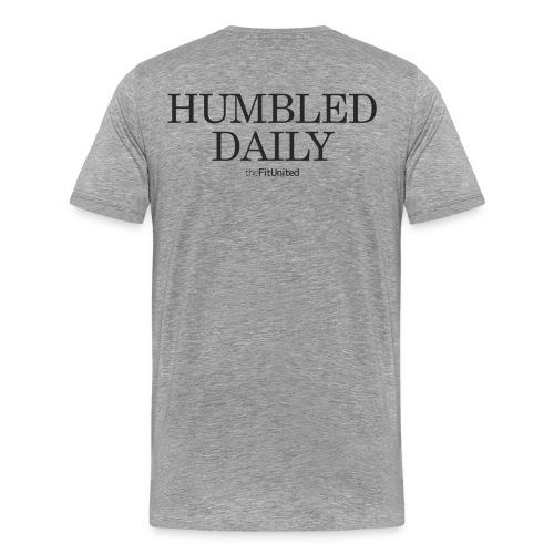 humbled_daily_logo - Men's Premium T-Shirt