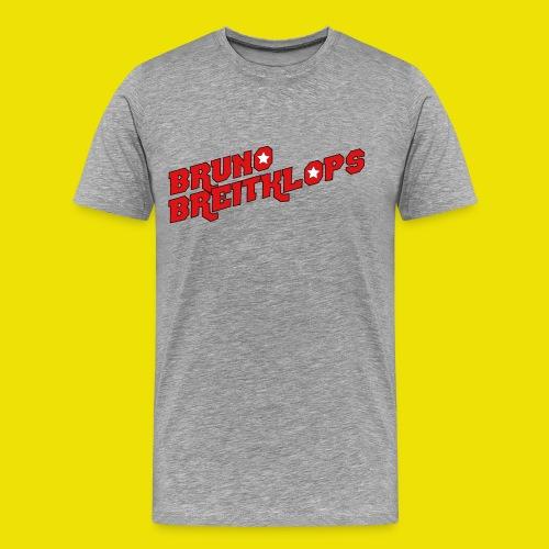 Schriftzug 30cm Kontur3mm png - Männer Premium T-Shirt