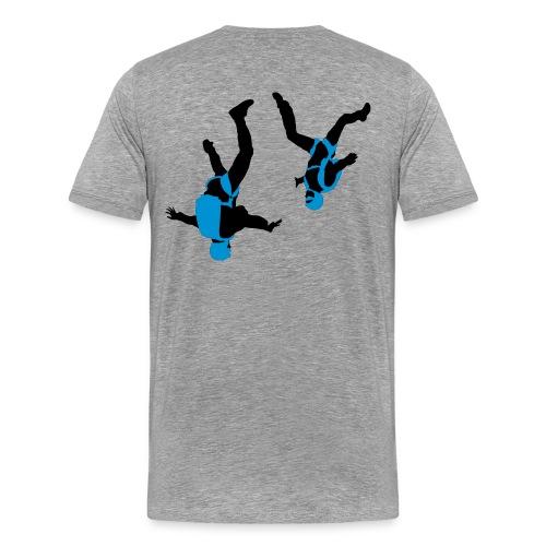 parachutisme Free Fly - T-shirt Premium Homme