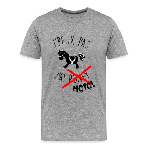 Je peut pas j ai moto png - T-shirt Premium Homme