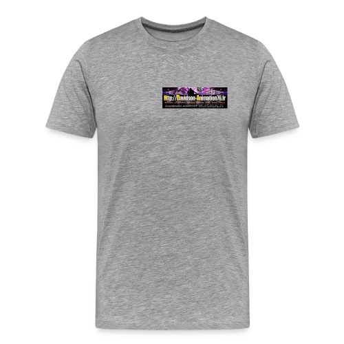 Logo Davidson 2015 jpg - T-shirt Premium Homme