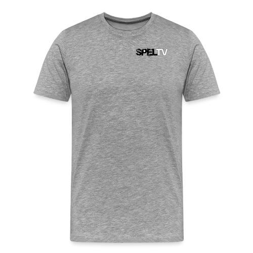 spelTV logo - Premium-T-shirt herr