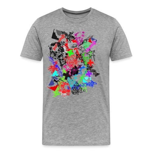 Southside91-Stickerbomb - Männer Premium T-Shirt