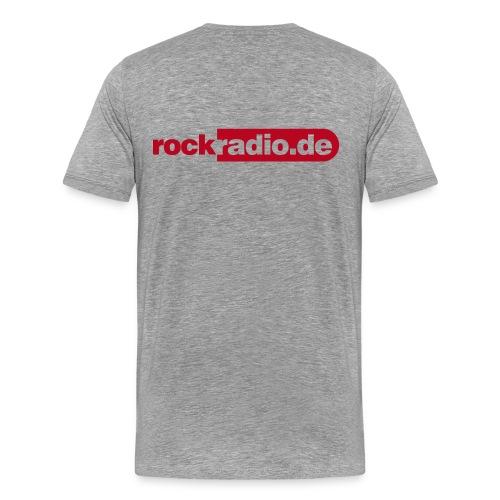 loge rockradio 10 - Männer Premium T-Shirt